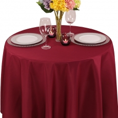 Polyester Solid Tablecloth for Rent
