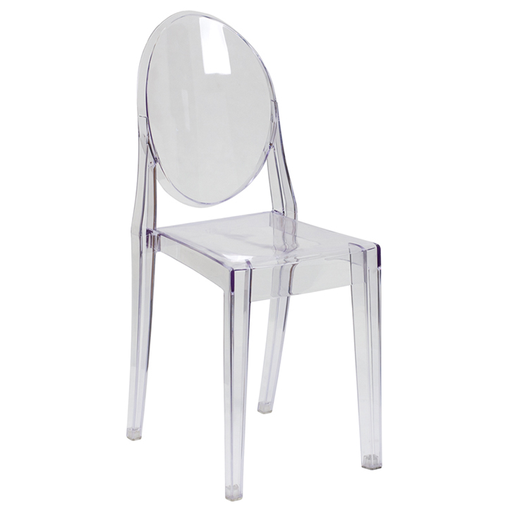 Chost Clear Chair W/ Arms For Rent Clear Ghost ...