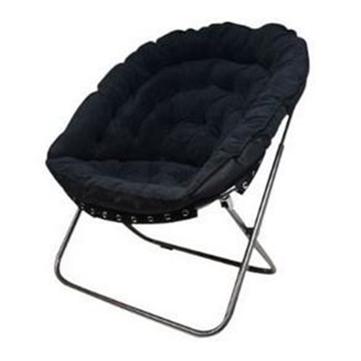 Genial Oversized Moon Chair Black For Rent