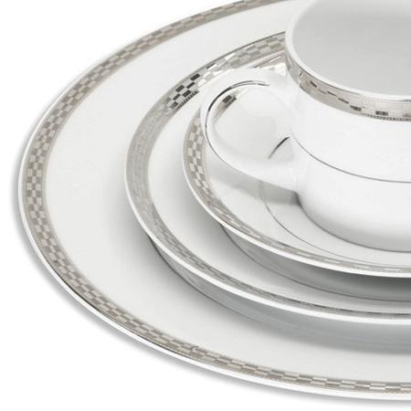 Athens Platinum Dinnerware for Rent  sc 1 st  PartyRentals.US & Athens Platinum Dinnerware