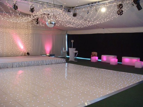 White Dance Floor For Rent In Nyc Partyrentals Us
