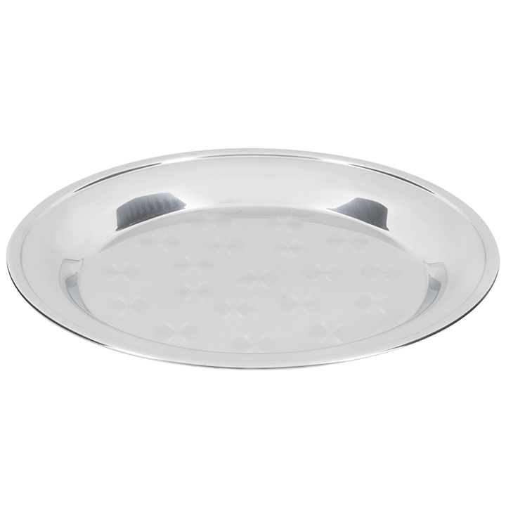 Stainless Round Swirl Tray For Rent In Nyc Partyrentals Us
