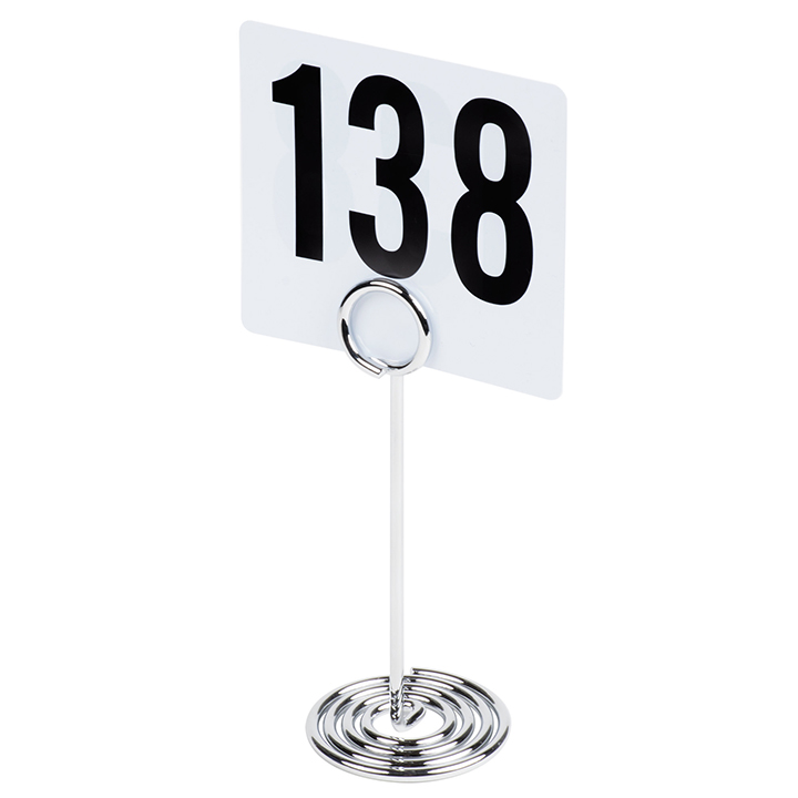 Silver Swirl Number Stand For Rent In Nyc Partyrentals Us