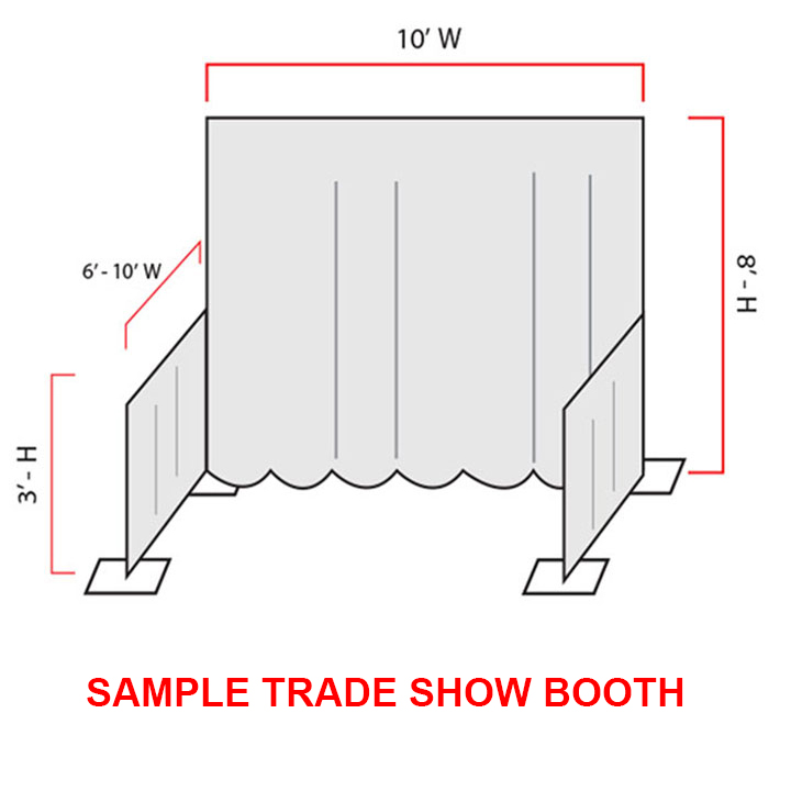 Upright Pole Pipe Amp Drape For Rent In Nyc Partyrentals Us