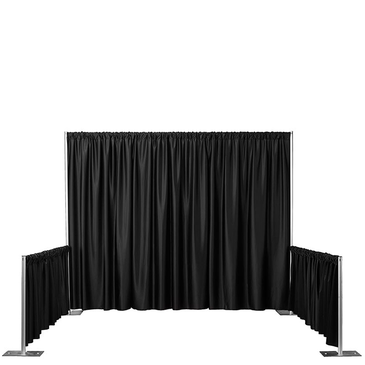 Trade Show Booth Pipe & Drape for Rent in NYC | PartyRentals US