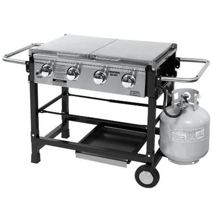 Propane Griddle Top 1burner Portable Table Top Propane