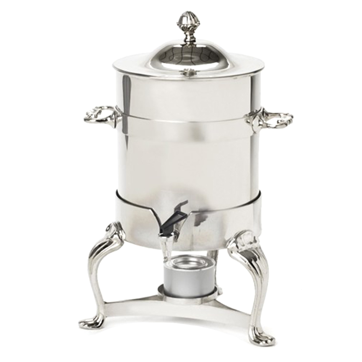 100 Cup Silver Coffee Round Urn For Rent In Nyc