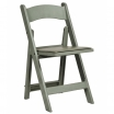 Flint Grey Folding Chair