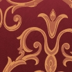 Burgundy / Gold