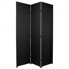 Black Folding Divider Screen for Rent
