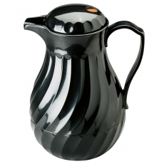 Black Swirl Thermal Server for Rent