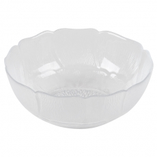 Glass Fleur Bowl for Rent