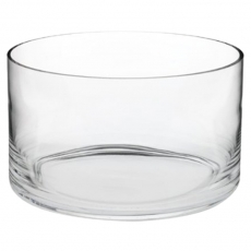 Straight Sided Glass Bowl for Rent