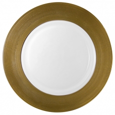 Gold Trim Charger Plate for Rent