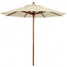 Khaki Market Umbrella for Rent