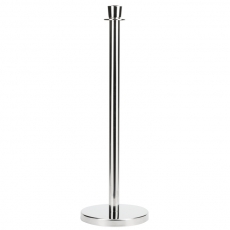 Silver Stanchion Pole for Rent