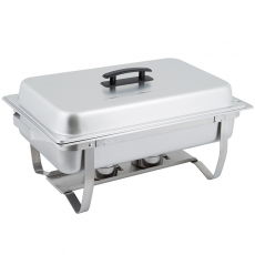 8 qt Rectangle Stainless Chafer for Rent