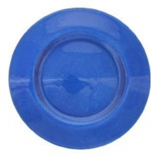 Cobalt Blue Glass Charger Plate for Rent