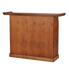 English Chestnut Wood Bar for Rent