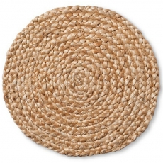 Natural Jute Braid ​Charger Plate for Rent