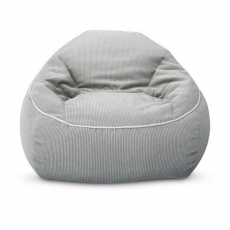 Structured Bean Bag Grey Corduroy​ for Rent