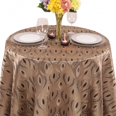 Art Deco Eclectic Tablecloth for Rent