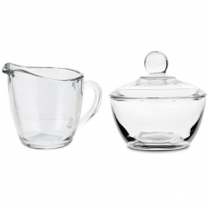 Glass Creamer or Sugar Bowl for Rent