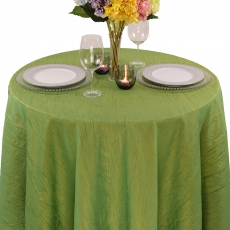Crushed Krinkle Tablecloth for Rent