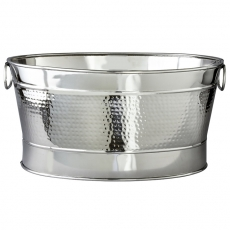 Hammered Oval Tub for Rent