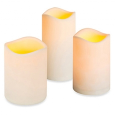 LED Flameless Pillar Candle for Rent