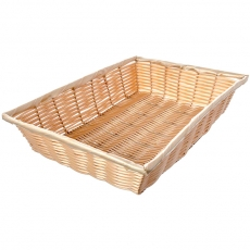 Rattan Rectangle Basket for Rent