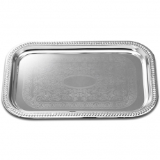 Stainless Rectangular Tray for Rent