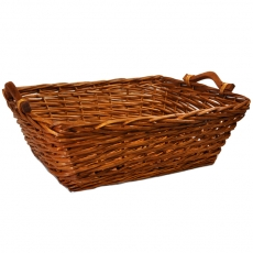 Willow Basket Tray for Rent