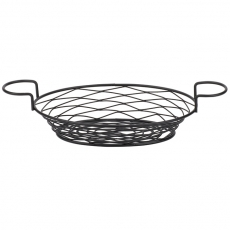 Wrought Iron Oval Basket w/ Ramekin Holder for Rent