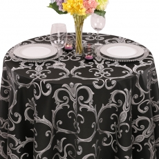Damask Chopin Tablecloth for Rent