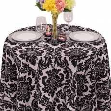 Damask Alterio Tablecloth for Rent