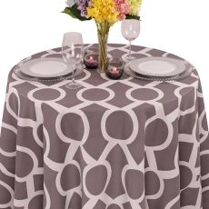Geometric Prints Liberty Key Tablecloth for Rent