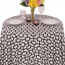 Geometric Prints Liberty Square Tablecloth for Rent