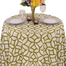 Geometric Prints Retro Cirque Tablecloth for Rent