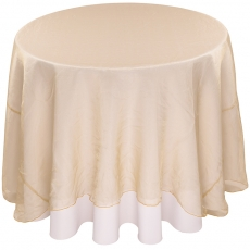 Sheer Organza Tablecloth for Rent