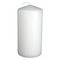 White Pillar Candle for Rent