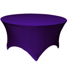 Round Table Spandex Linen for Rent