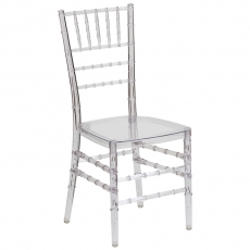 Ghost Chiavari Chair for Rent