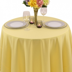 Spun Polyester Tablecloth for Rent
