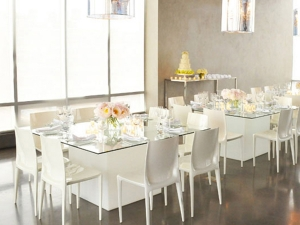 Bellini chairs at party table