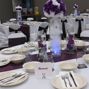 Windsor flatware table setting