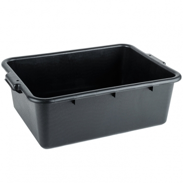Black Bussing Tub for Rent