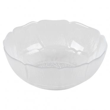 Glass Fleur Bowl for Rent