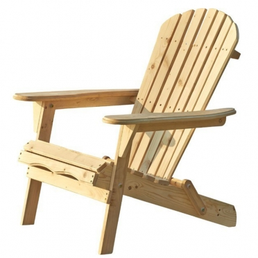 Adirondack Chair Natural for Rent