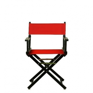 Red Director's Chair for Rent